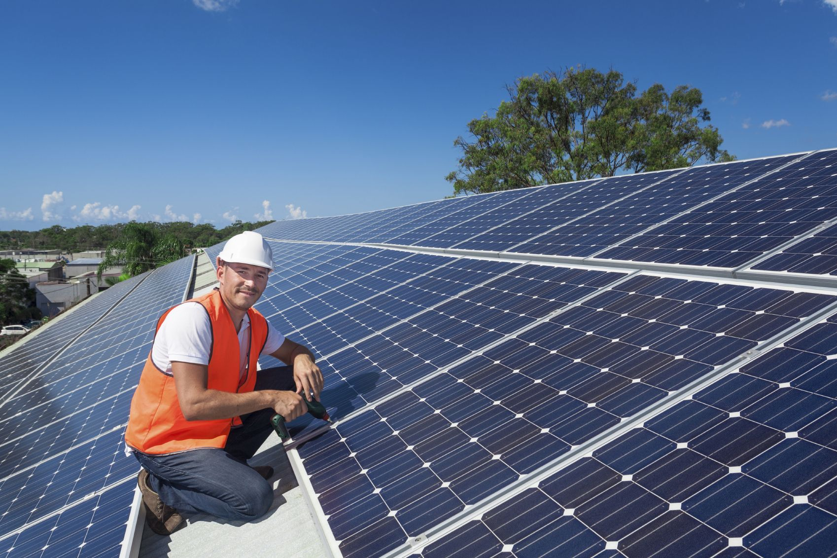 solar installation Young
